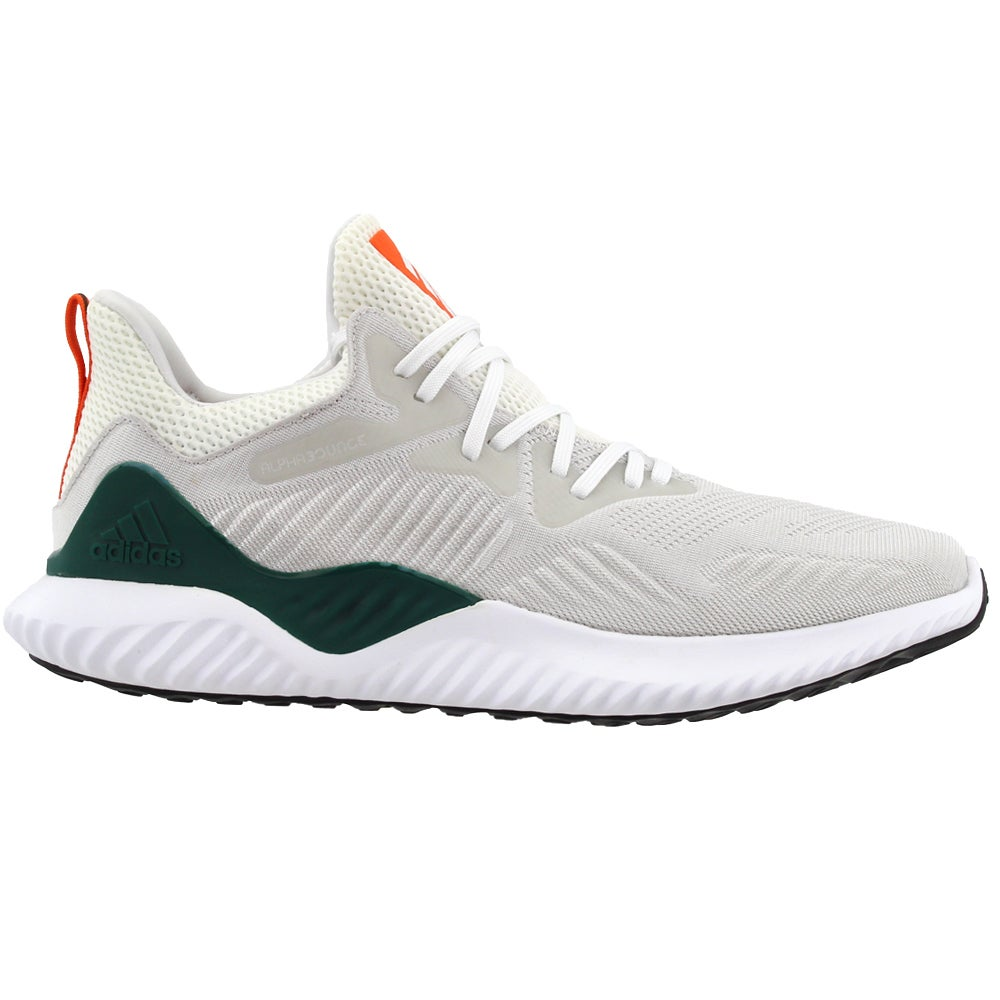 Details about adidas Alphabounce Beyond NCAA Casual Running Shoes Green -  Mens - Size 11 D