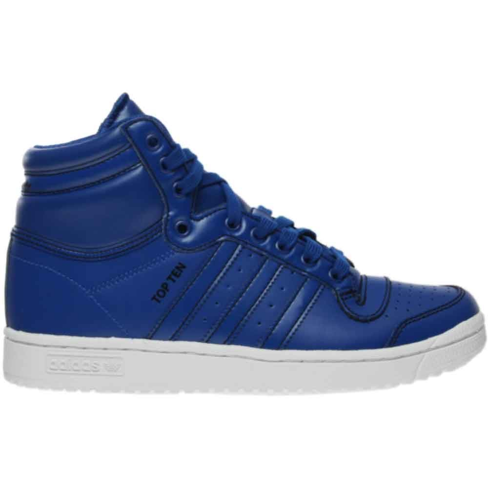 adidas Top Ten Hi Blue - Mens  - Size 4.5