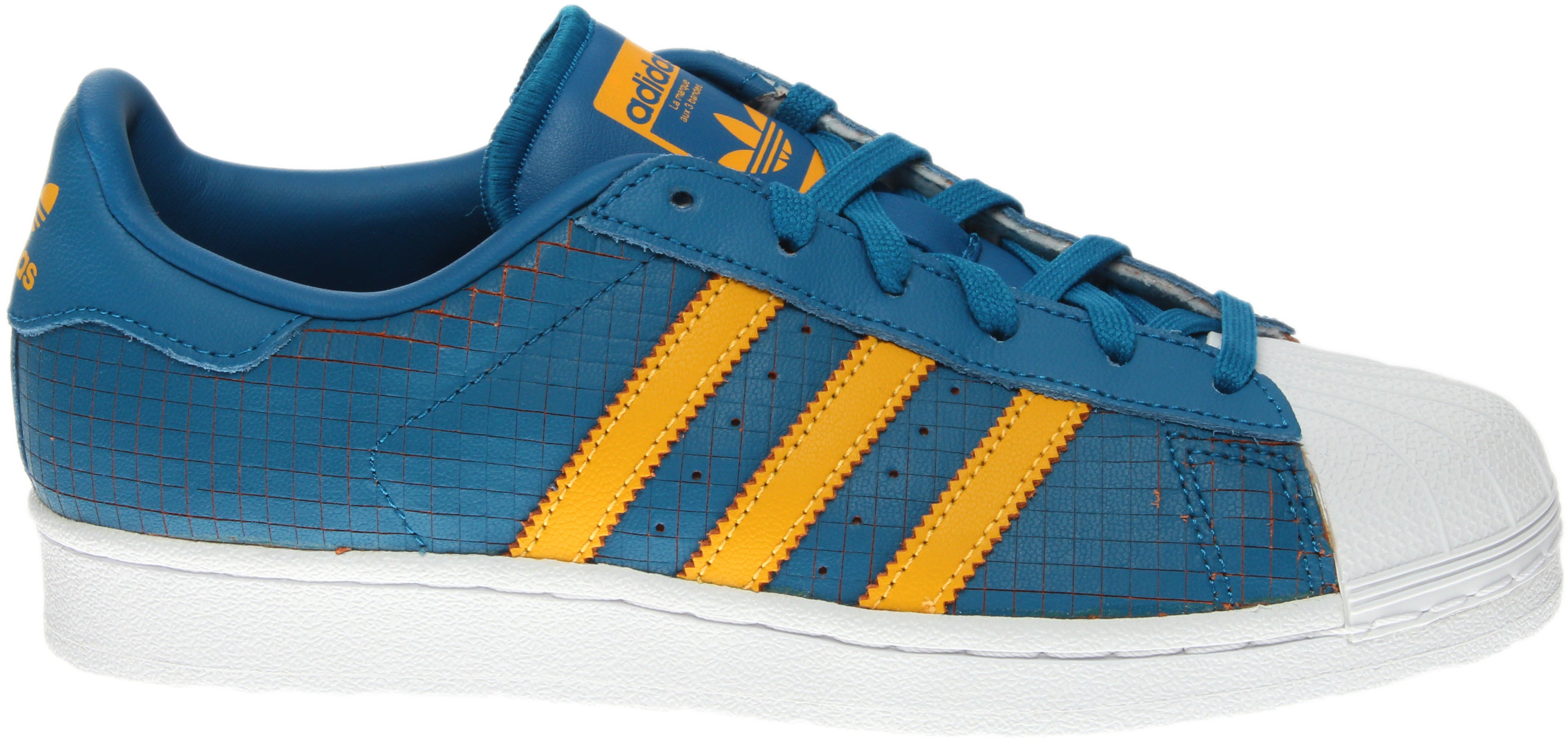 adidas Superstar Blue - Mens  - Size