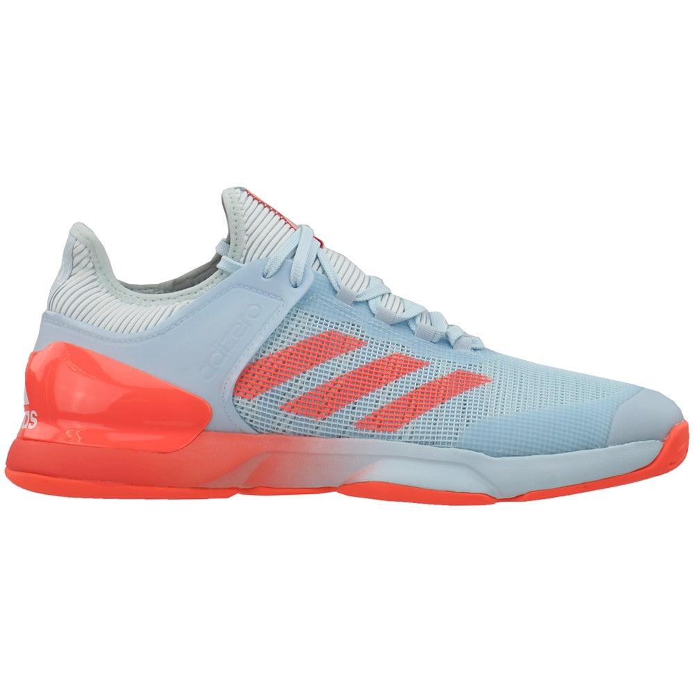 sistema General Posicionar  adidas Adizero Ubersonic 2 Tennis Shoes Blue Mens Lace Up Athletic
