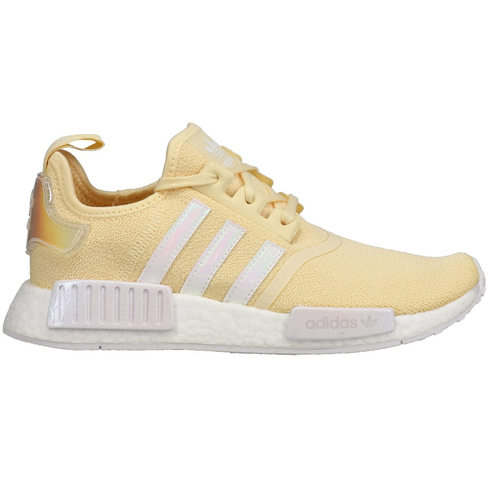 adidas NMD_R1 Lace Up Sneakers Casual Shoes Yellow- Womens- Size 6.5 M