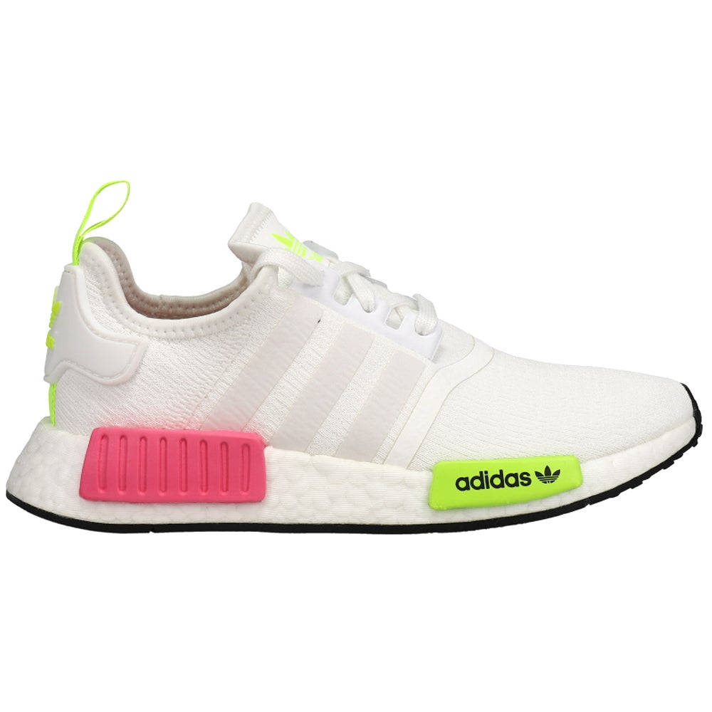 adidas NMD_R1 Sneakers Casual Shoes Pink White Yellow- Womens- Size 5 M