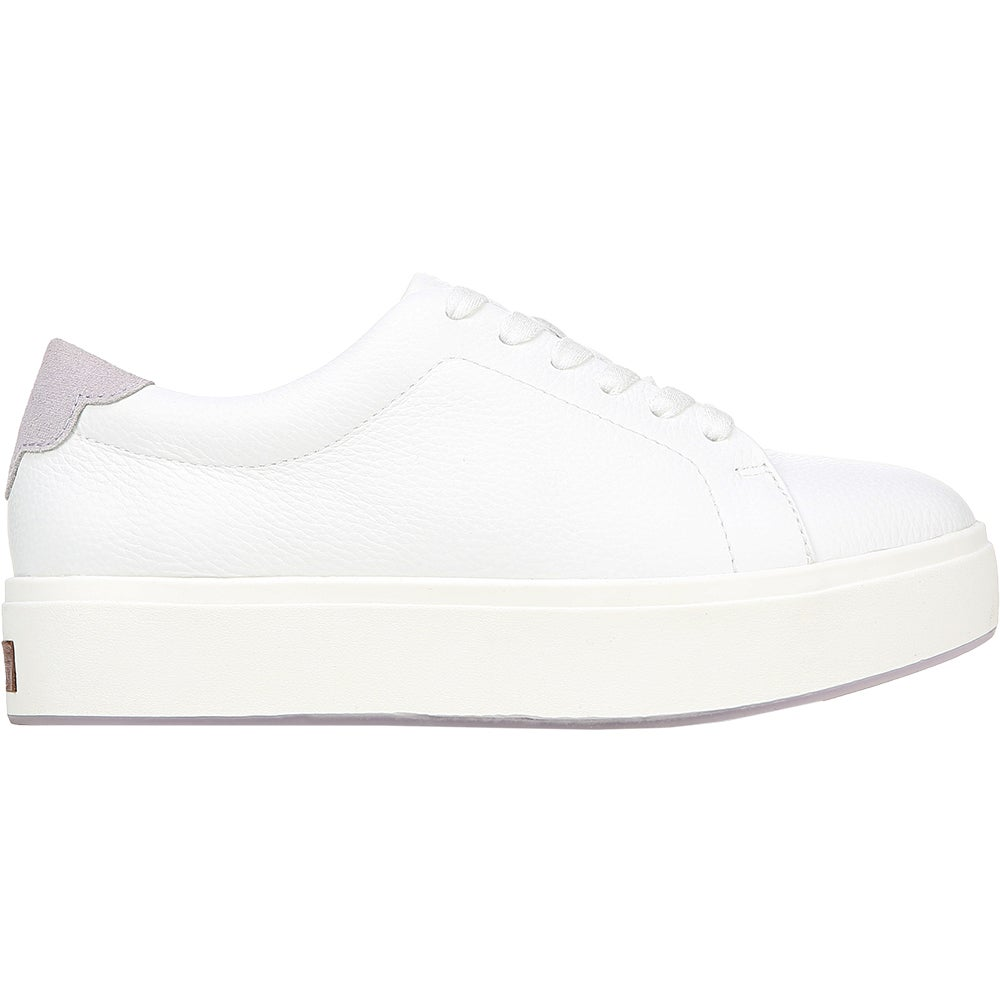 Abbot Laced White Womens Lace