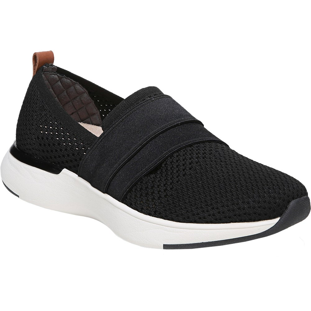 Slay All Day Black Womens Slip On Sneakers