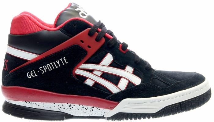 ASICS GEL-SpotLyte Black Retro Basketball Shoes and get free ... 2754c0bb6dad