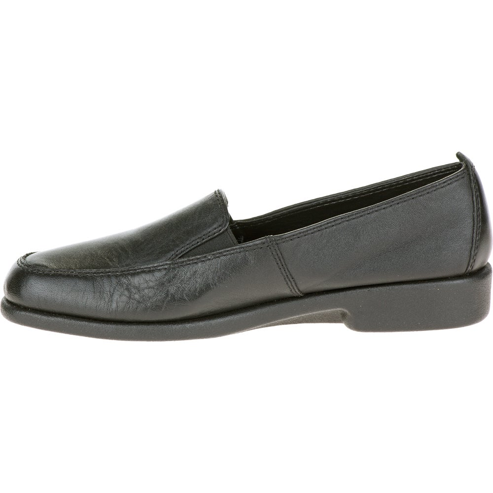 WOMEN/'S HUSH PUPPIES HEAVEN H55540 BLACK LEATHER DS NEW