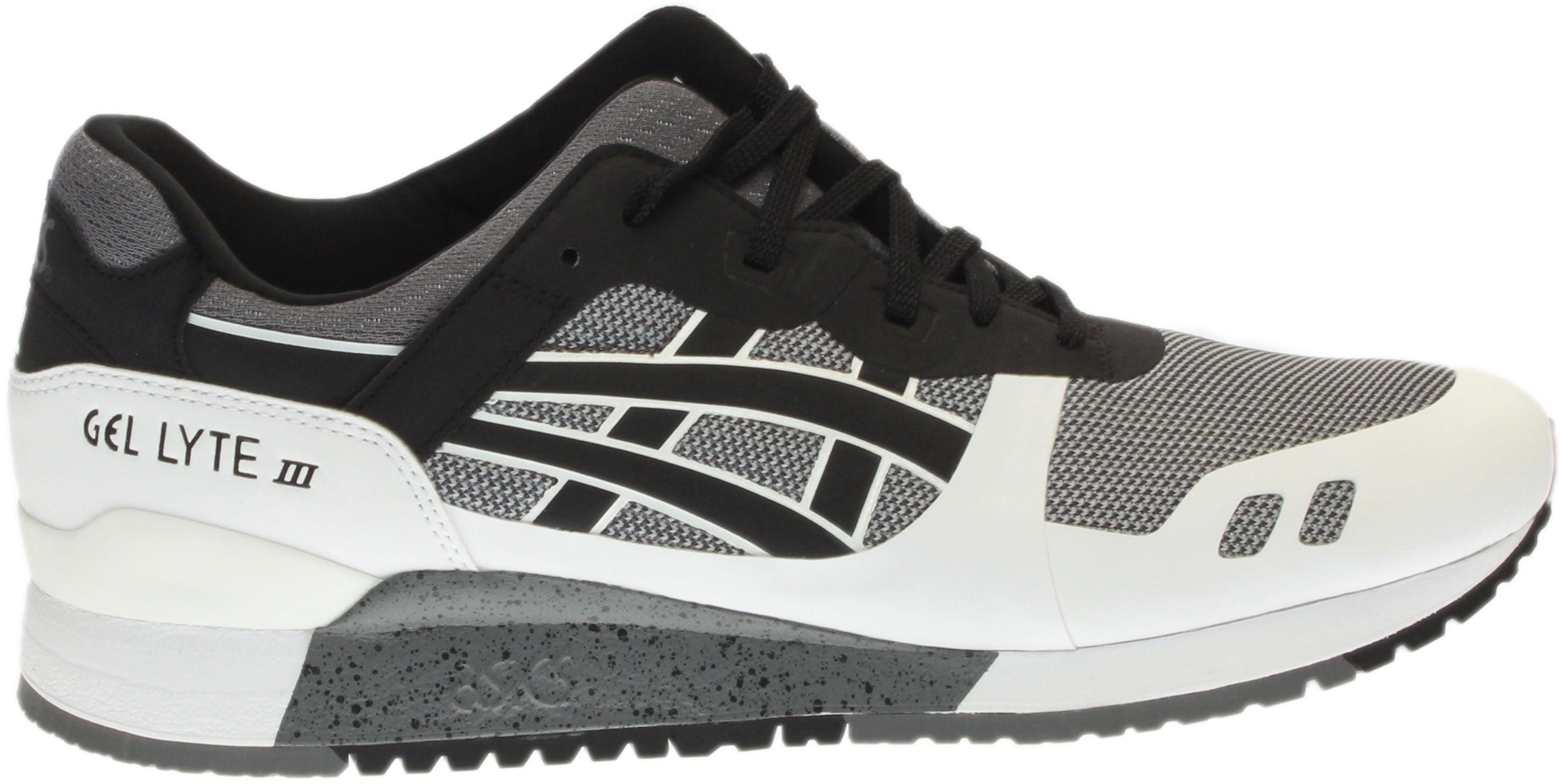 4a0f12733b88 ASICS GEL-Lyte III NS Running Shoes - Black White - Mens