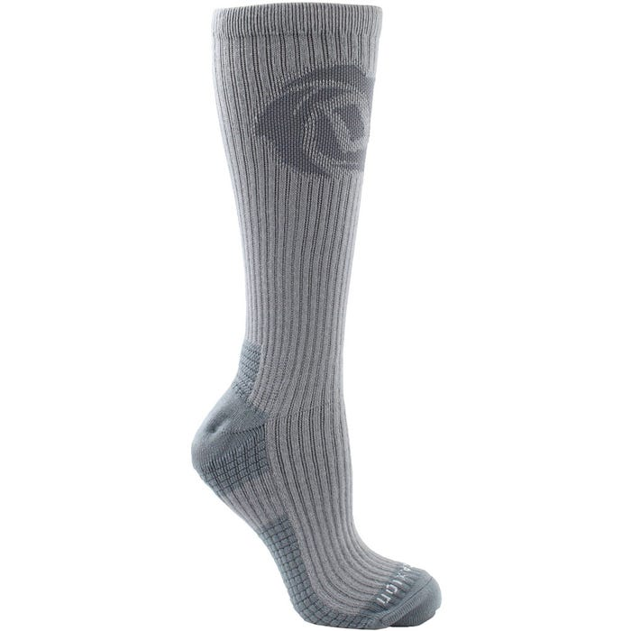 D Rose Graphic Logo Crew Socks