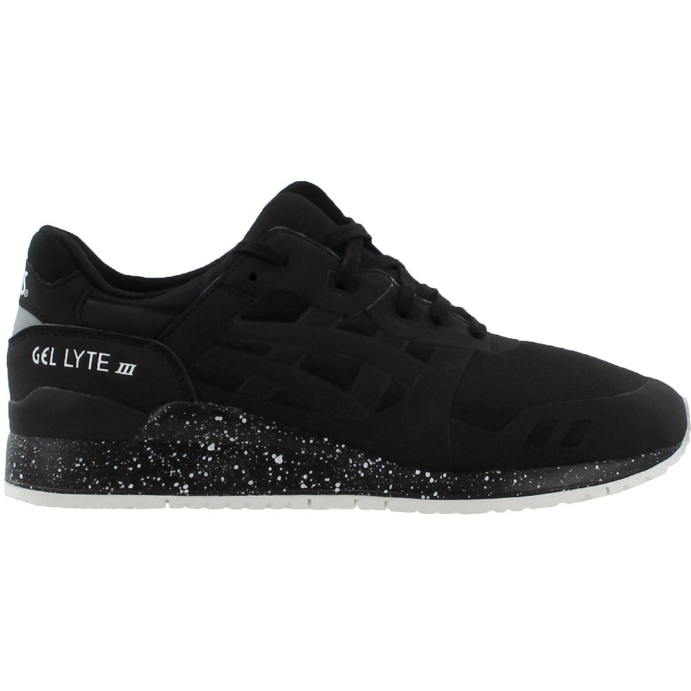 Details about ASICS Gel Lyte III No Sew Athletic Shoes Black Mens Size 9 D