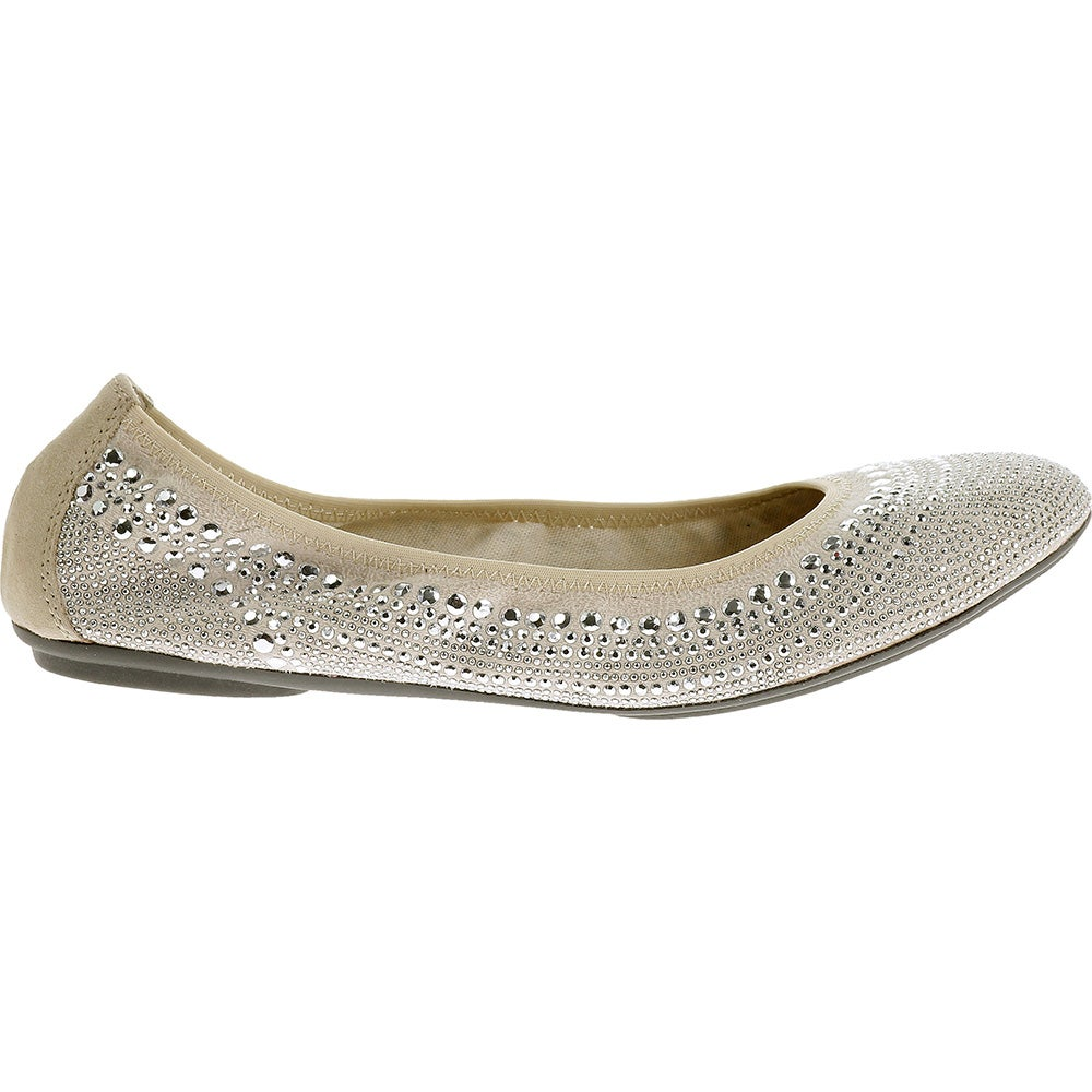 Hush Puppies Chaste Ballet Silver - Womens  - Size
