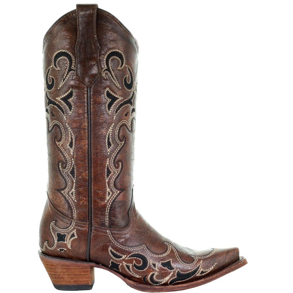 Circle G by Corral Cowhide Snip Toe