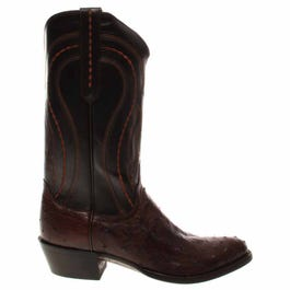 Montana Ostrich Leather Boots