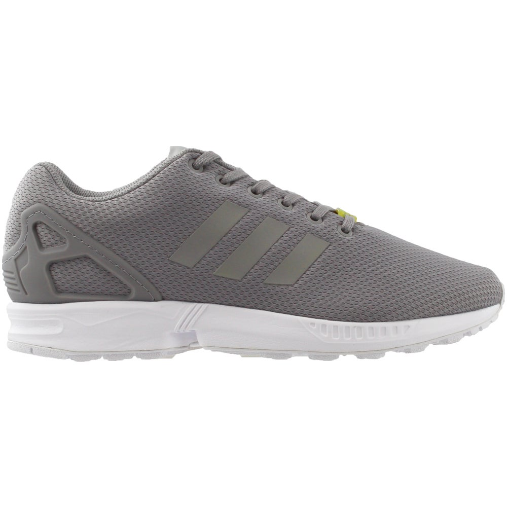 best loved 91865 ccb63 Details about adidas ZX FLUX Running Shoes - Grey - Mens