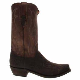 Carl Sharkskin Leather boots