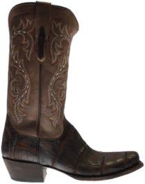 Burke Alligator Leather Boots