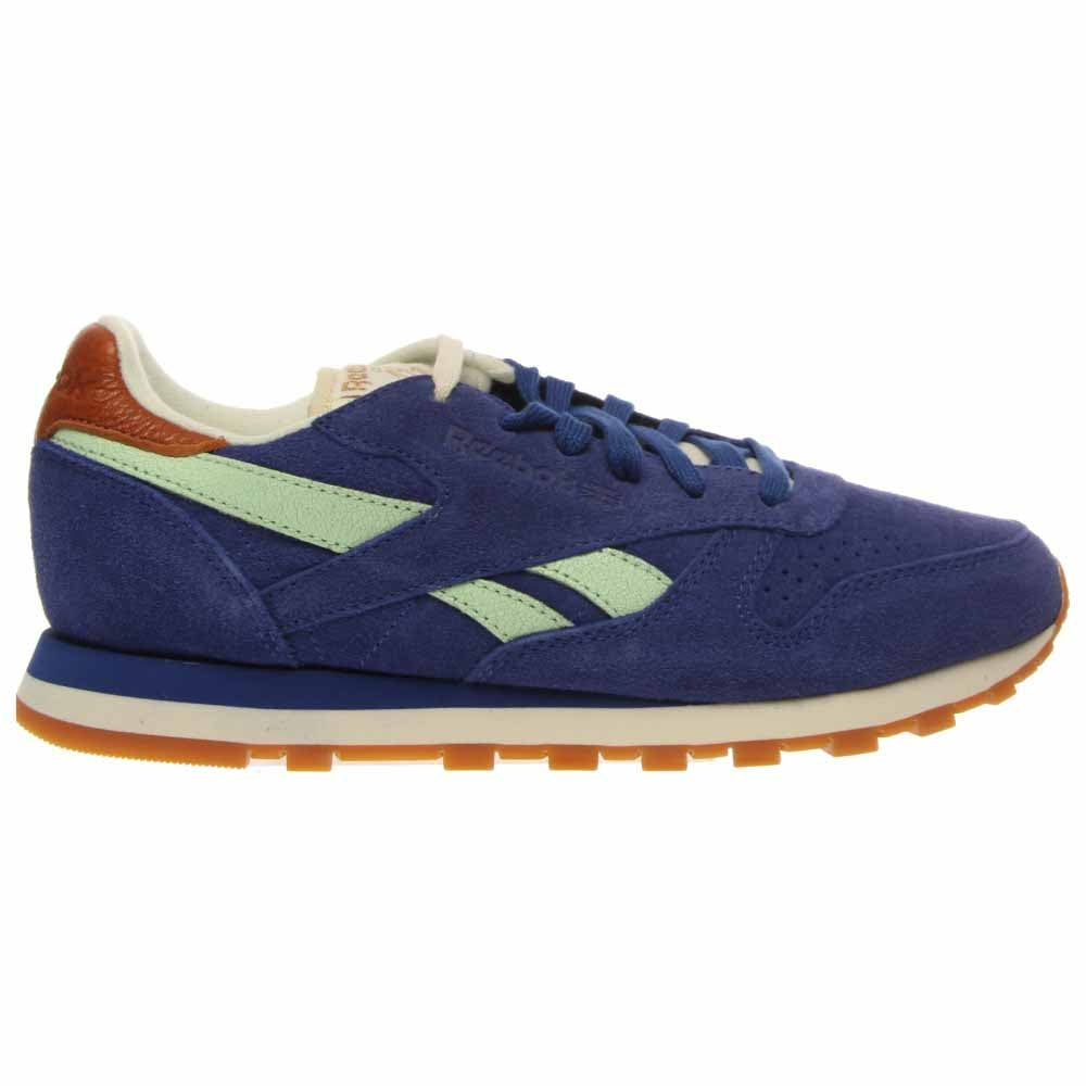 Reebok Classic Leather Suede Blue - Womens  - Size 7.5