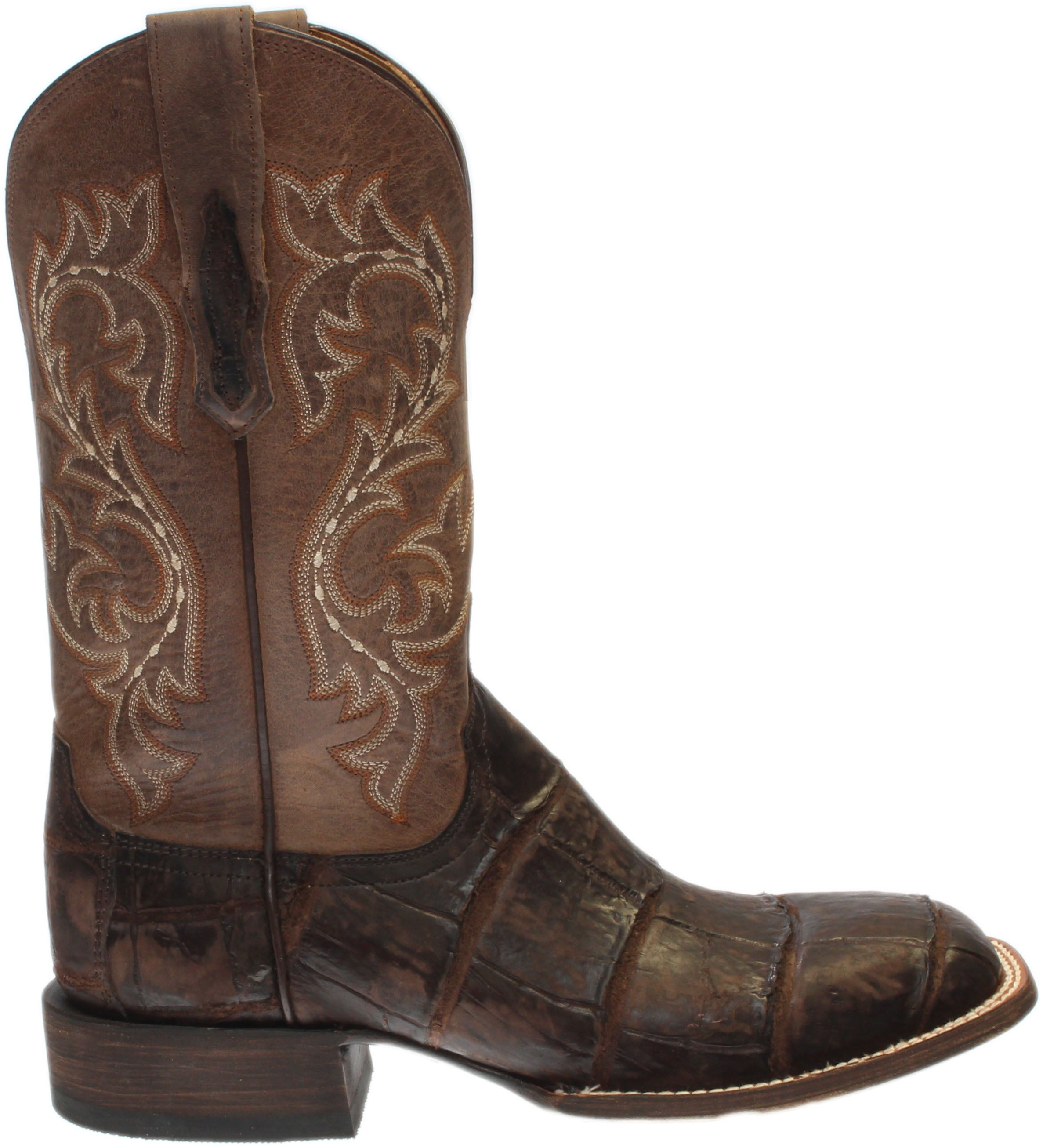 Lucchese Malcolm Alligator Leather Boots