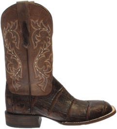 Malcolm Alligator Leather Boots