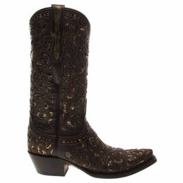 Sierra Cowhide Leather Boots