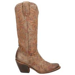 Laurelie Cowhide Leather Boots