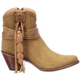 Robyn Suede Booties