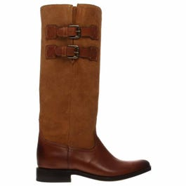 Paige Cowhide Leather Boots