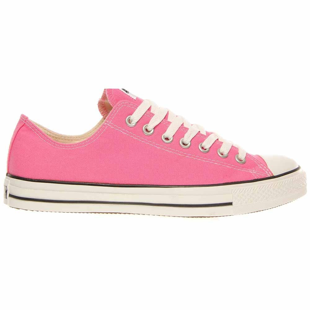 Converse All Star Ox Pink Canvas Lace Up - Pink - Unisex