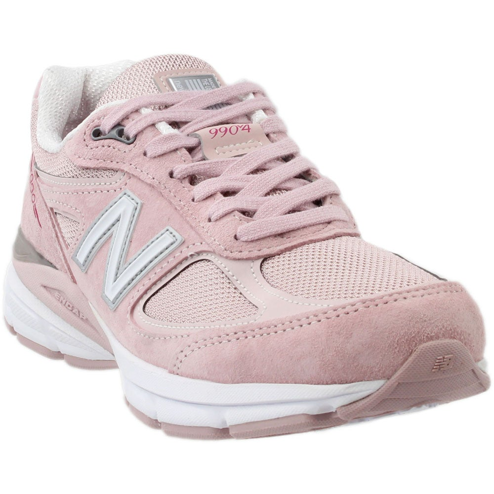 New Balance 990v4 Pink Mens Lace Up