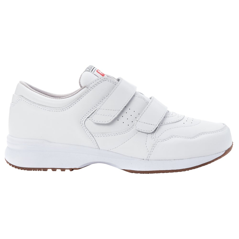 3c37c43d9657 Details about Propet Cross Walker LE Strap Sneakers - White - Mens