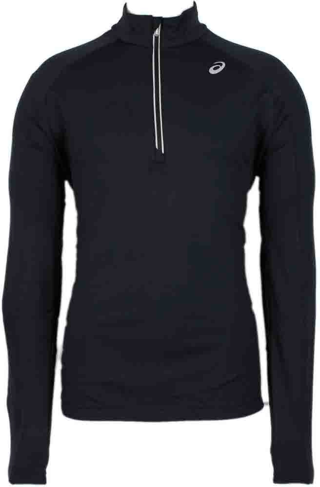 ASICS Thermal XP 1/2 Zip Black - Mens  - Size L