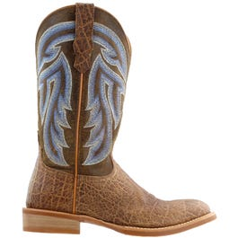 Silver Buckle Rancher Boot