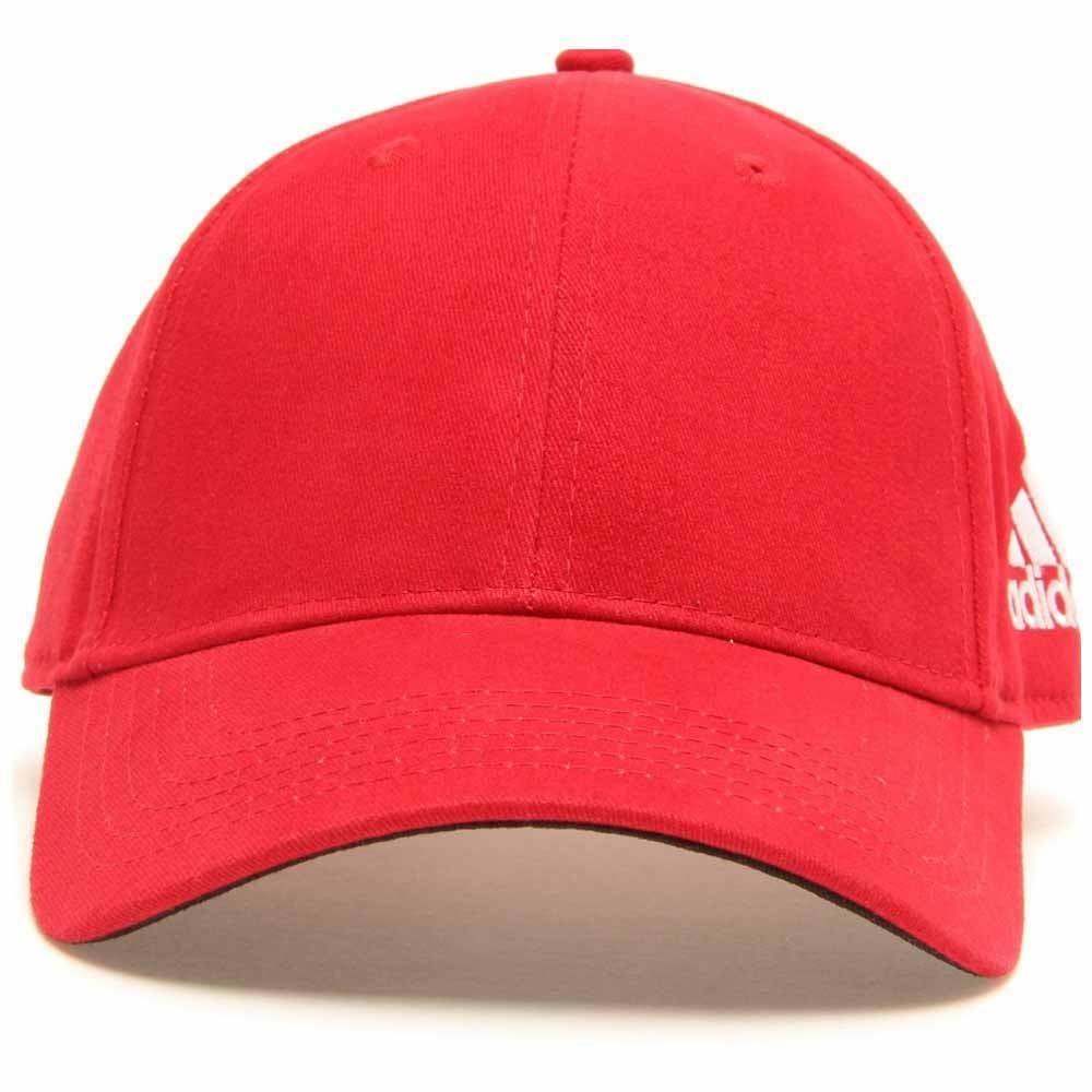 Image of Headwear-Performance Structured Custom 09 Front Hit-Red - Red - Mens
