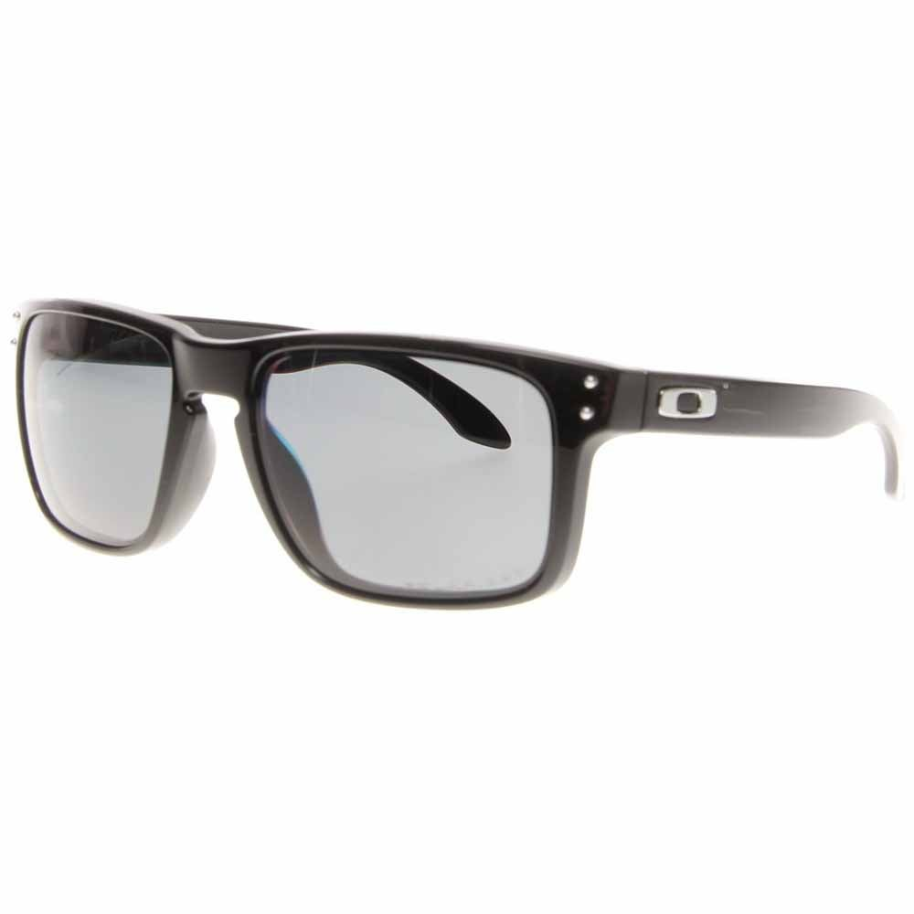 Holbrook Polarized Black - Mens - Size One Size These pro snowboarder Shaun White designed Oakley Holbrook retro men's polarized sunglasses bring classic style and performance to any look. These sunglasses for men feature lightweight O Matter™ synthetic frames and polarized Plutonite® polycarbonate lenses for maximum durability and UV protection.