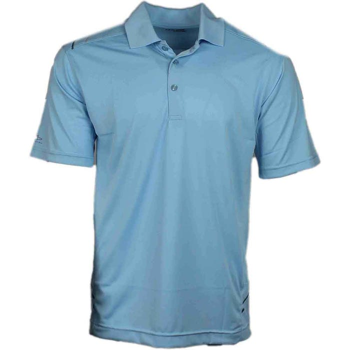 Page & Tuttle Wrap Shlder Side Print Polo