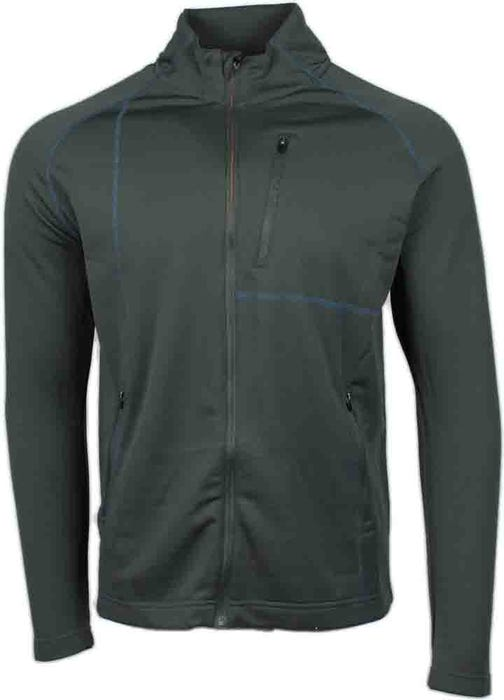 Page & Tuttle Coverstitch Full Zip Layering