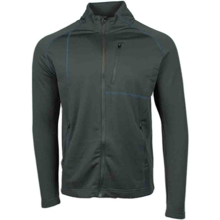 Coverstitch Full Zip Layering