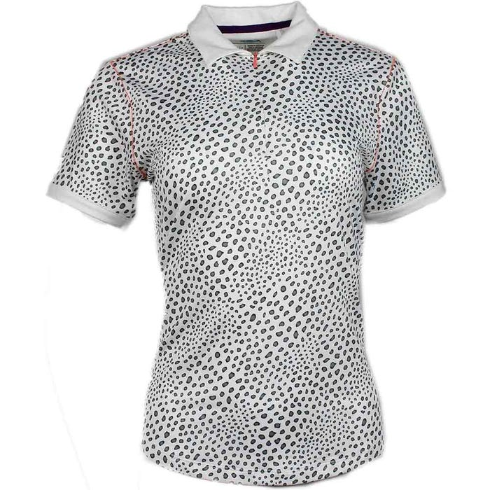 Gradient Animal Print Polo