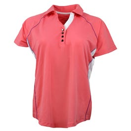Page & Tuttle Colorblock Coverstitch Polo