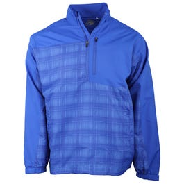 Plaid Colorblock Windshirt