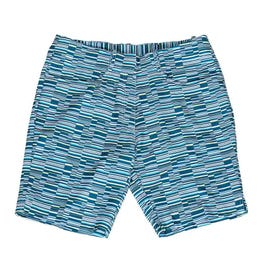 Offset Stripe Shorts