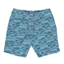 Offset Stripe Shorts