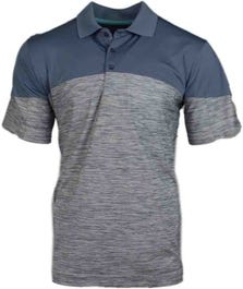 Tonal Texture Colorblock Polo