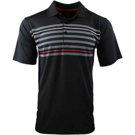 Texture Chest Stripe Polo