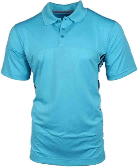 Gradient Side Stripe Polo