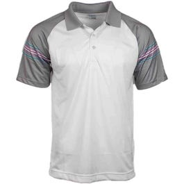 Raglan Stripe Polo