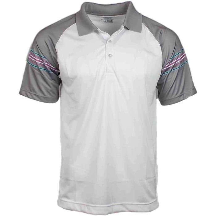Raglan Stripe Polo