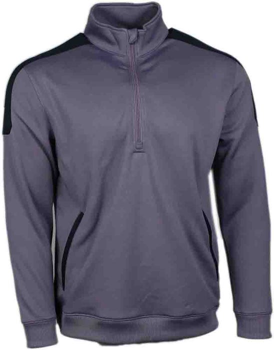 Shoulder Panel Layering Pullover
