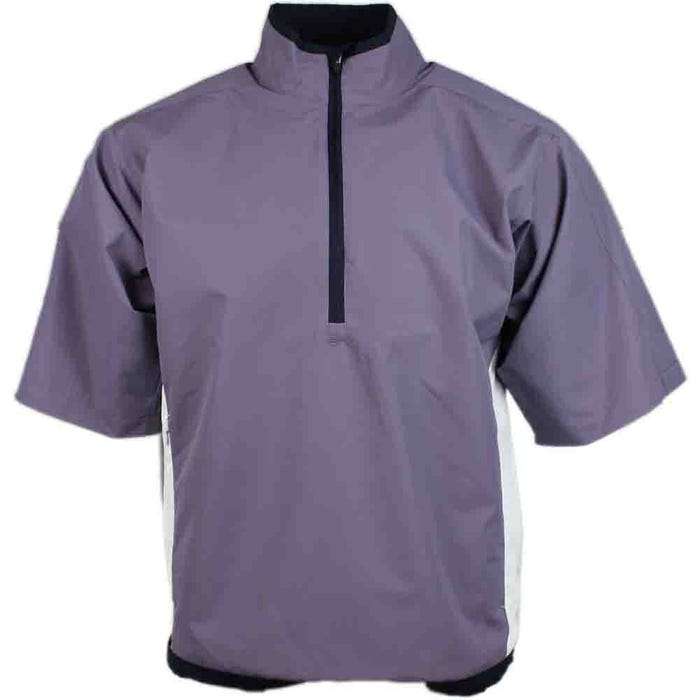 Short Sleeve Colorblock Windshirt