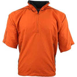 Peached Short Sleeve Windshirt