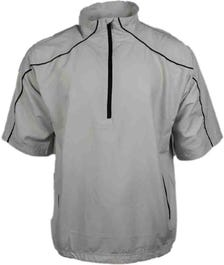 Free Swing Short Sleeve Peached Windshirt